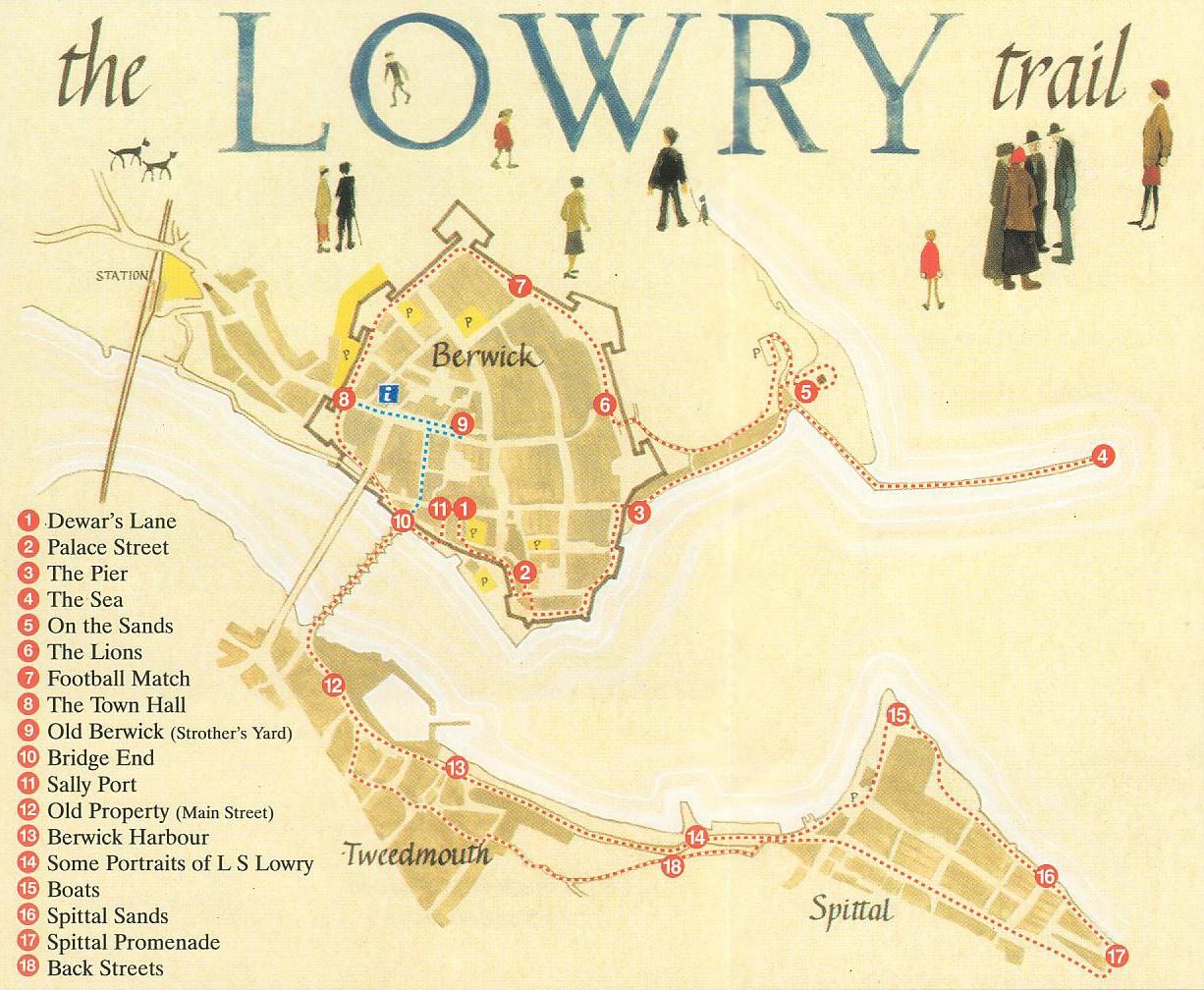 Lowry Trail Map